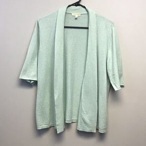 Eileen Fisher | Seafoam Open Lightweight Cardigan